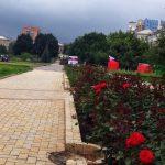 Донецк радостно встречает освободителей
