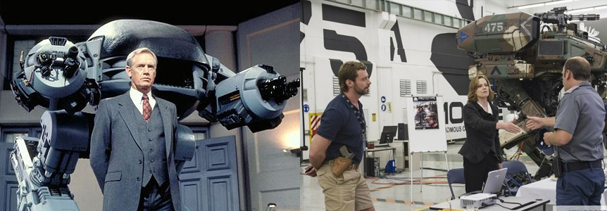 Robocop vs Chappie