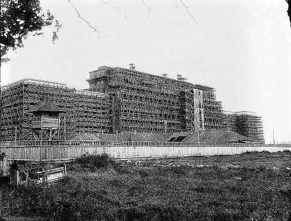 1937-1938 Строительство Дома Советов