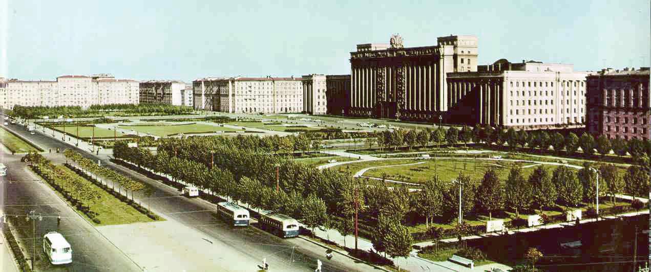 1964 Вид на Дом Советов