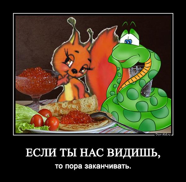 Белочка и змейка