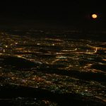 Ночной Питер с высоты птичьего полета