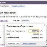 Яндекс Директ и НДС