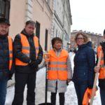 Как администрация Петербурга снег убирала
